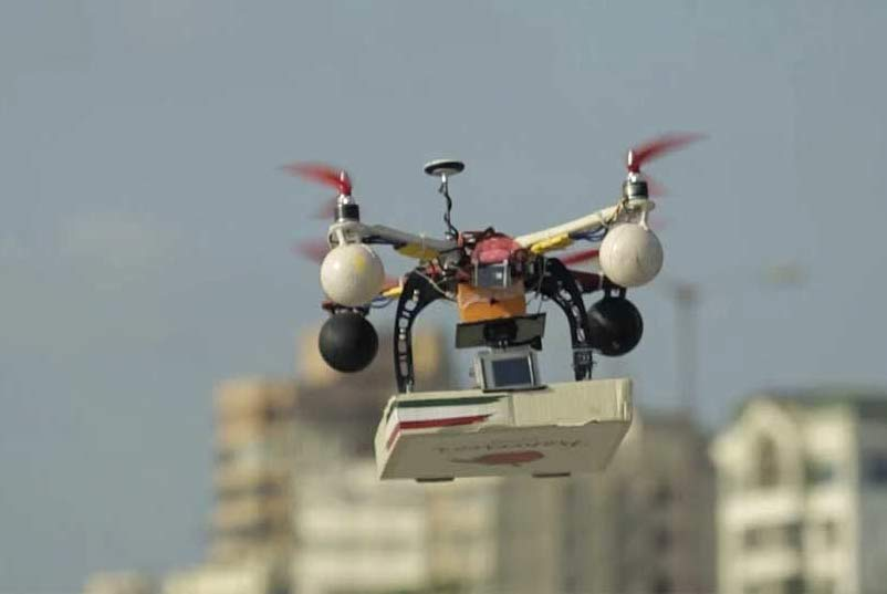 drone-entrega-pizza-na-india